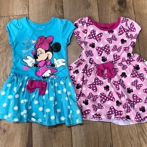 Bundle girls 3T Minnie dresses